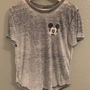 Disney Mickey Mouse burnout Tee L